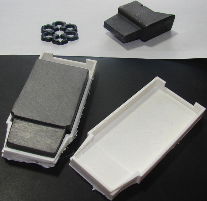 قطعات چاپ شده با پرینتر سه بعدی سی زان لایت