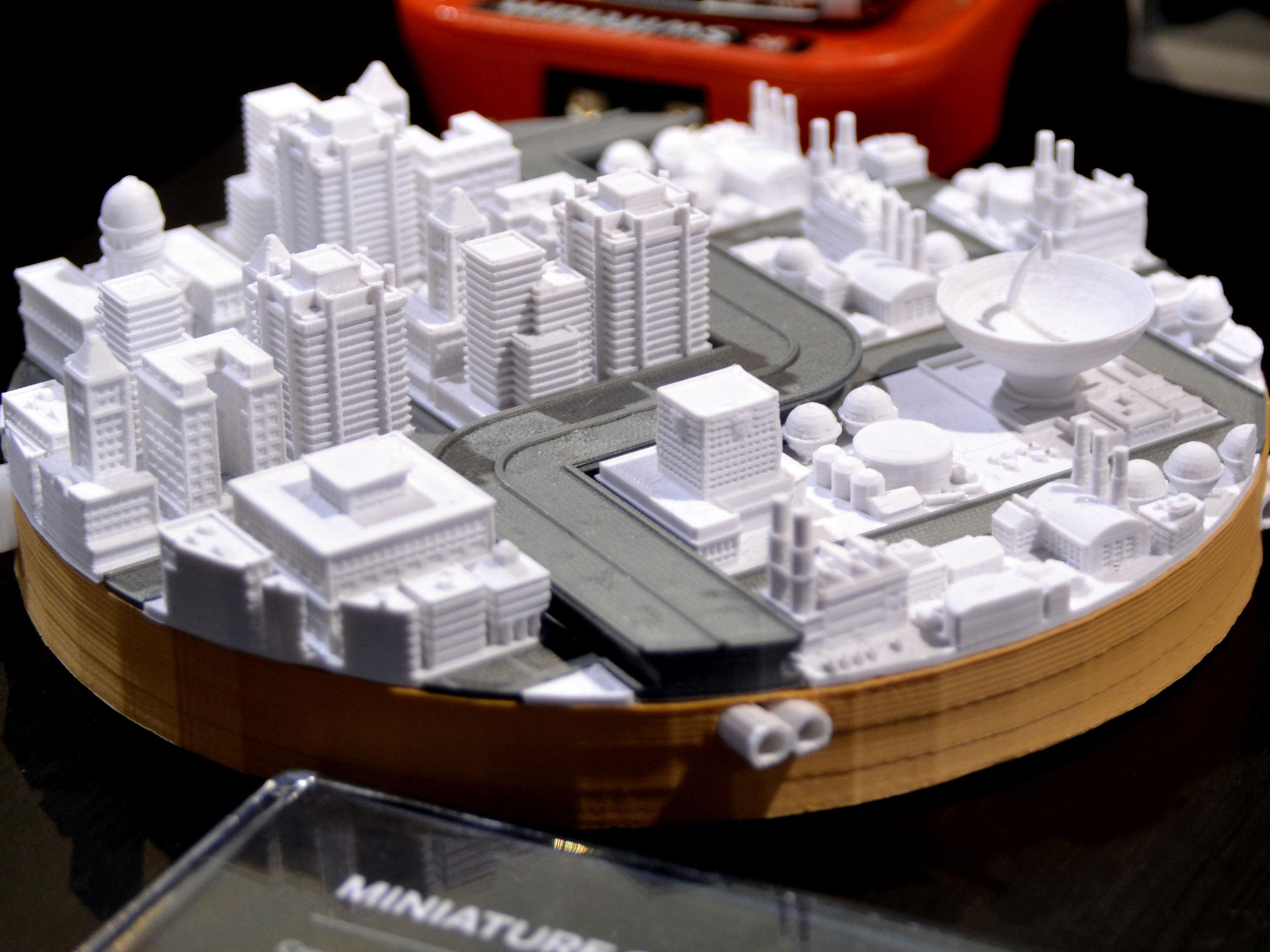 کاربرد پرینتر سه بعدی در ماکت سازی