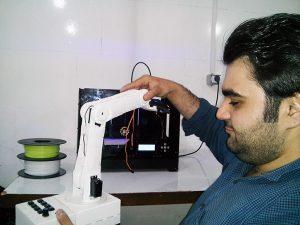 پرینتر سه بعدی در روباتیک