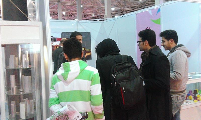 گزارش تصویری از غرفه سی زان در نمایشگاه ایران متافو