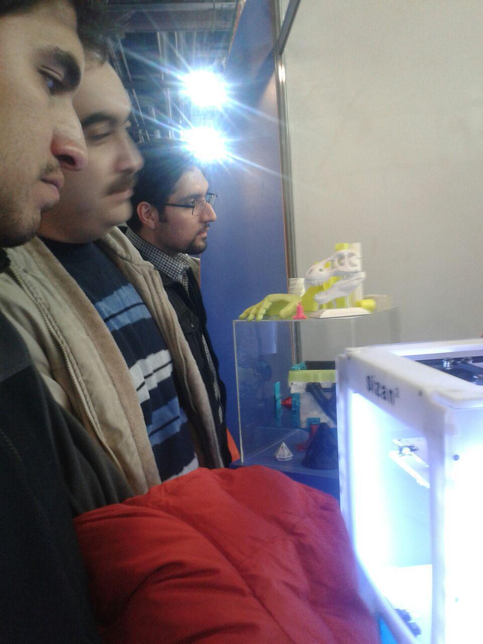 پرینتر سه بعدی سی زان در نمایشگاه کامپوزیت