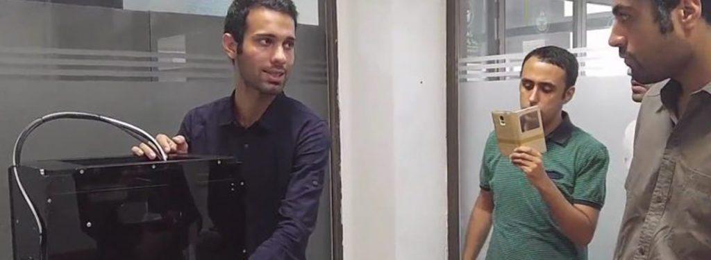 تحویل پرینتر سه بعدی به پردیس بین الملل دانشگاه تهران در کیش