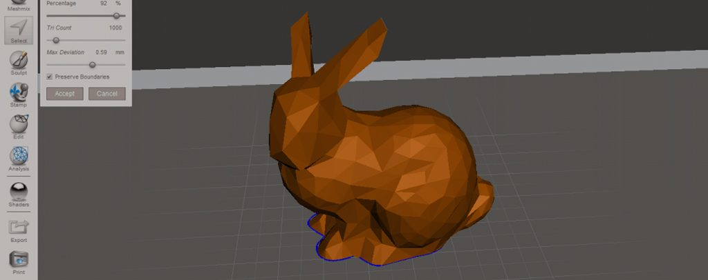 آموزش ساخت مدل های Low Poly با پرینتر سه بعدی