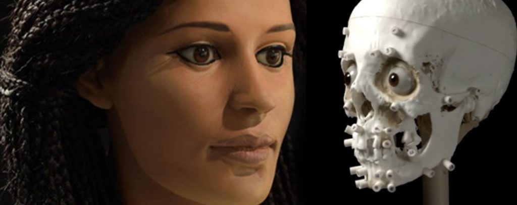 بازسازی چهره یک مومیایی مصری توسط پرینتر سه بعدی