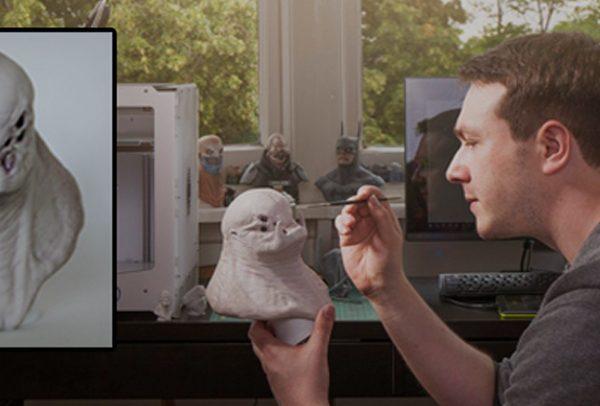 مجسمه سازی و چاپ سه بعدی