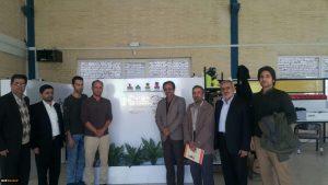 بازدید مسئولین دانشگاه شهید رجایی کاشان از شرکت سی زان پردازش کویر