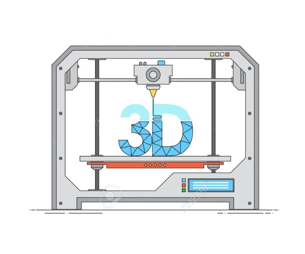 تکنولوژی چاپگرهای سه بعدی