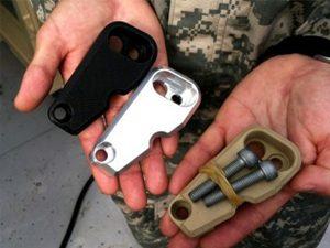 پرینتر سه بعدی در صنایع نظامی