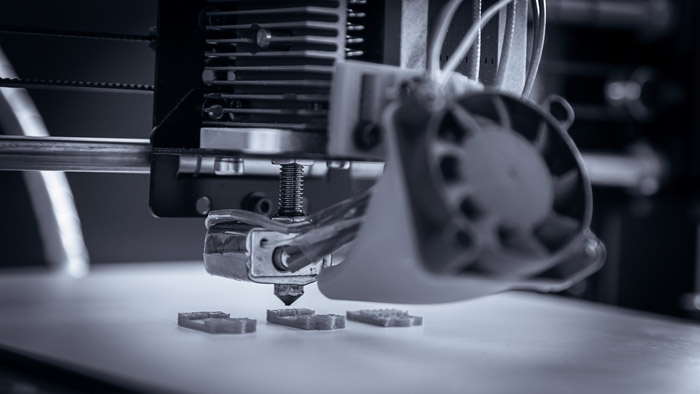 پرینترهای سه بعدی در صنعت
