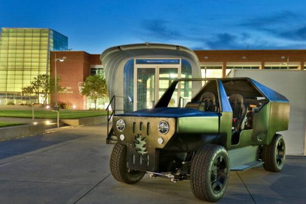 خودروی الکتریکی The PUV