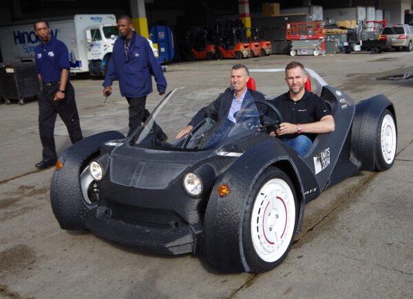 Strati، خودروی تماما چاپ سه بعدی شده شرکت لوکال موتورز