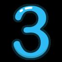 عدد سه