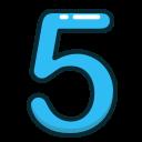 عدد پنج
