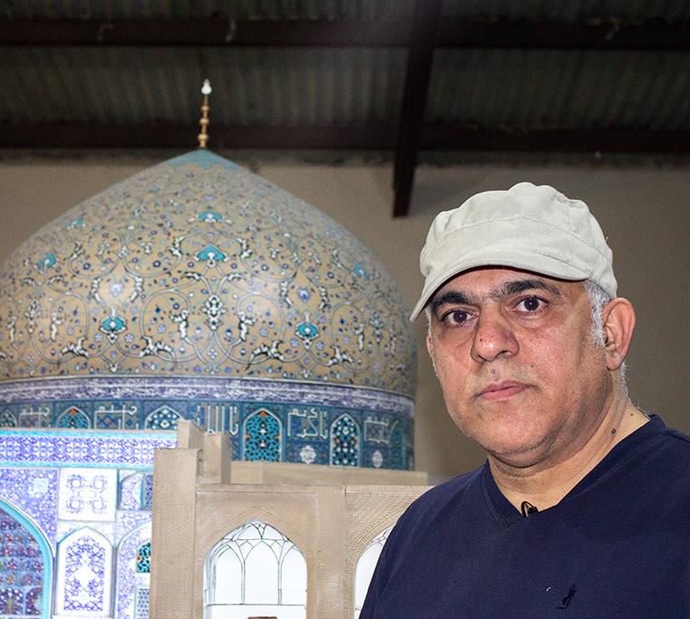 ماکت میدان امام با پرینتر سه بعدی