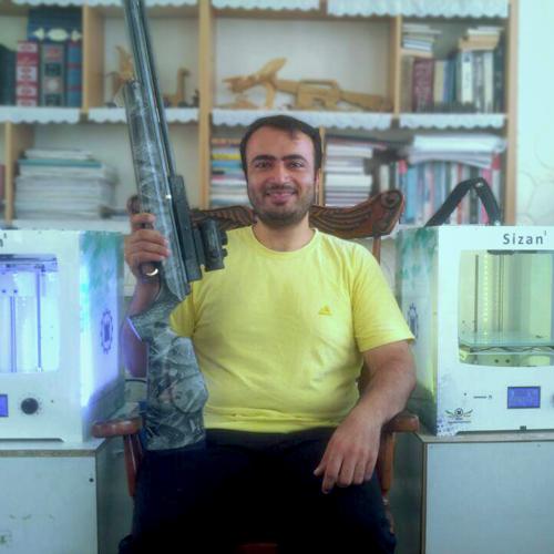 تولید قطعات اسلحه های تیراندازی با پرینتر سه بعدی