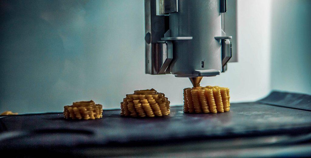 چاپ سه بعدی مواد غذایی