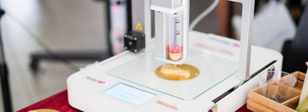 پرینتر سه بعدی غذاساز