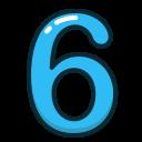عدد شش