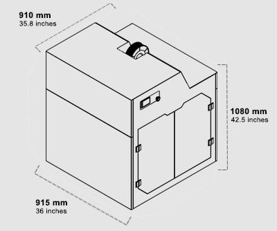 پرینتر سه بعدی صنعتی پرو