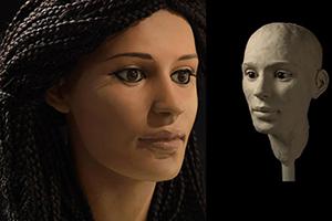 چاپ سه بعدی مومیایی